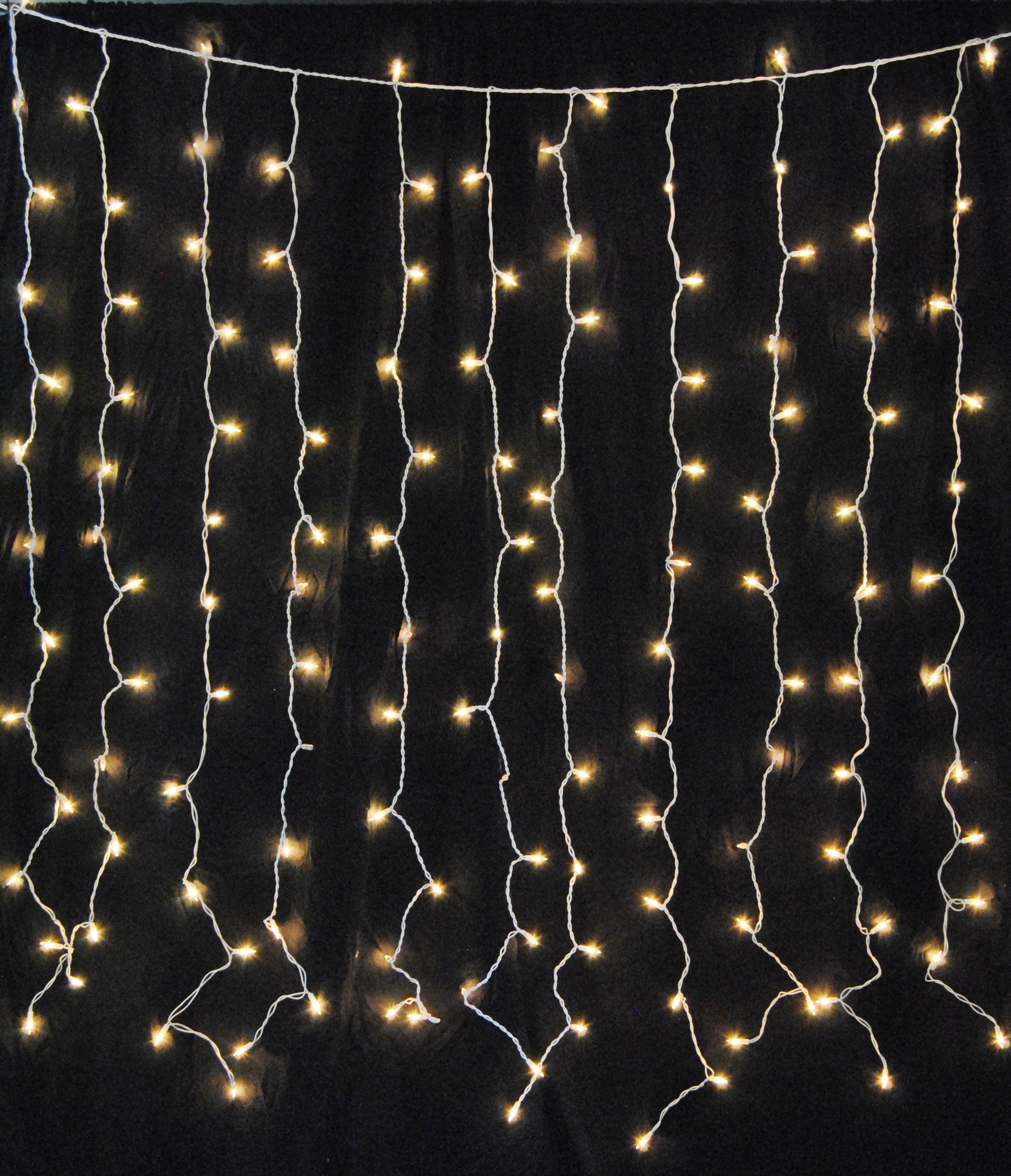 warm white led curtain lights 150 twinkle lights