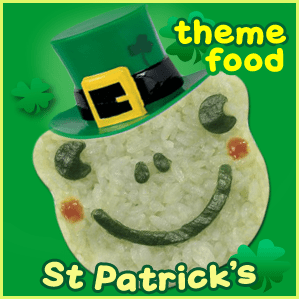 St Patricks Day Theme Food - Fun Bento Lunch