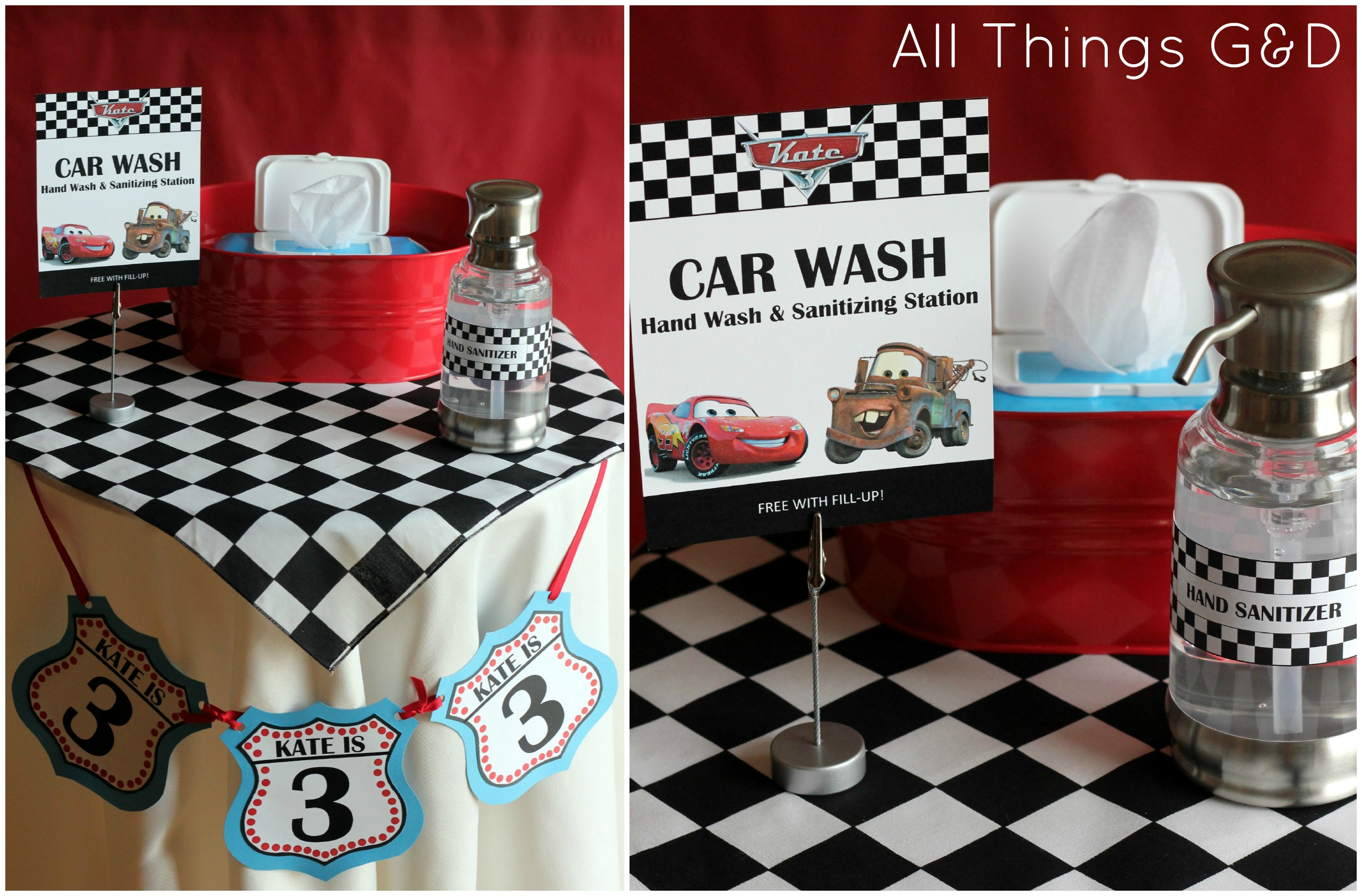 The Making Of Kate S Cars Birthday Party