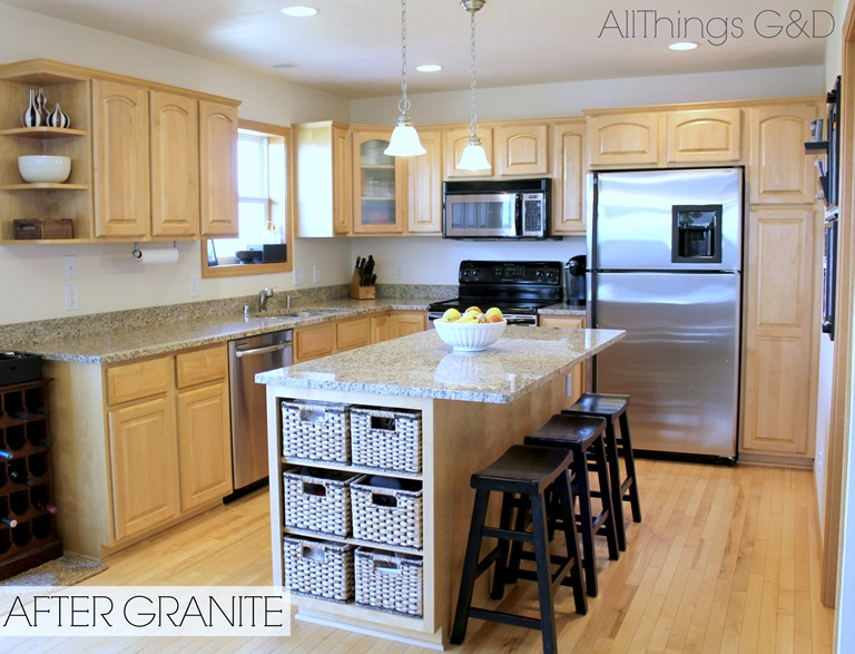 Going Gray - All Things G&D on What Color Backsplash With Maple Cabinets  id=69120