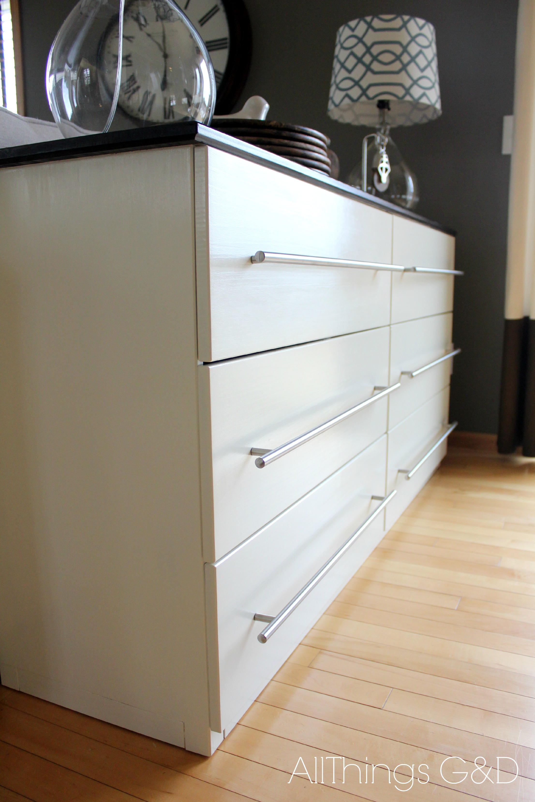 IKEA TARVA Transformed Into a Kitchen Sideboard All Things G&D