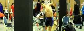 Barbell Side Bends with Lu Xiaojun