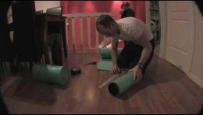DIY Foam Roller Alternatives - All Things Gym