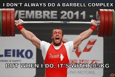 I Don't Always Do A Barbell Complex - Dmitry Klokov - All ...