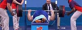 Siamand Rahman 301kg Bench Pres