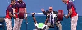 Yakubu Adesokan 180kg World Record