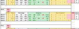 531 Overwarm Singles Spreadsheet