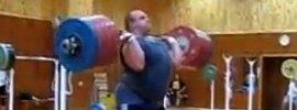 Artem Udachyn 270kg Jerk from Rack