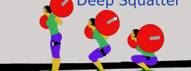Deep Squatter App Measures Depth and Speed