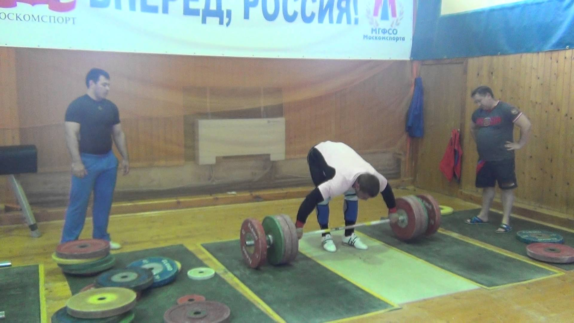 Dmitry Klokov 4+1 Snatch Grip Deadlift + Snatch - All ...