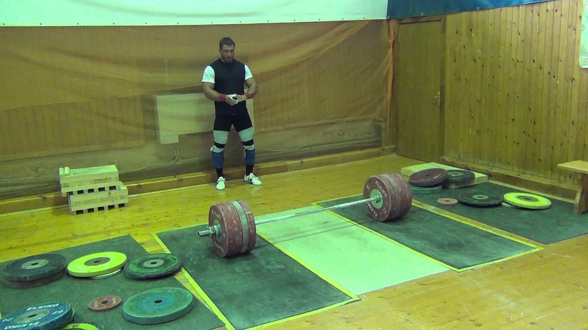 Dmitry Klokov 225kg Clean & Jerk - All Things Gym