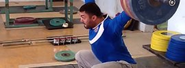 Dmitry Berestov 190kg Snatch