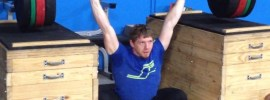 Chad Vaughn Tempo Close Grip Overhead Squats