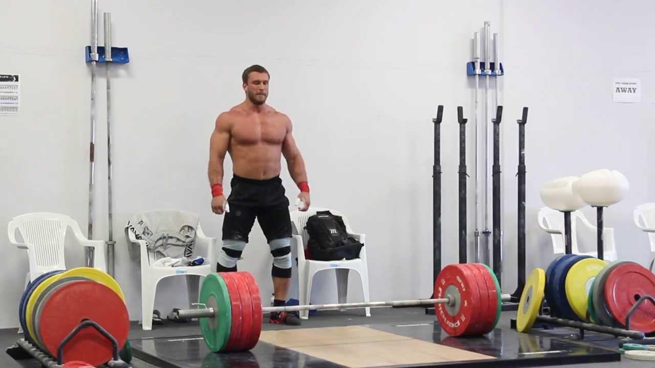 Dmitry Klokov 190kg Thruster All Things Gym