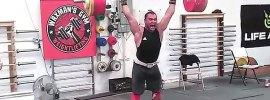 vasiliy polovnikov 210kg clean push press