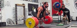 vasiliy polovnikov 300kg x3 clean pulls