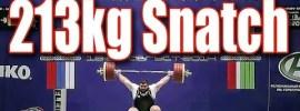 Chingiz Mogushkov 213kg Snatch 2014 Russian Championships