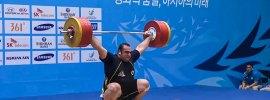 Behdad Salimi 210kg Snatch + 255kg Clean & Jerk 2014 Asian Games