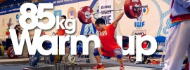 85kg-warm-up area