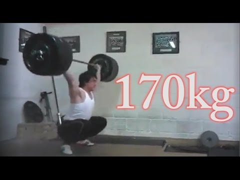 Clarence Kennedy 170kg Snatch All Things Gym