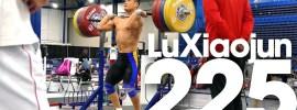 Lu Xiaojun 225kg x2 Front Squat