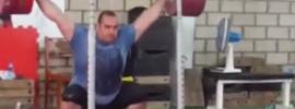 Behdad Salimi 220kg Snatch Balance