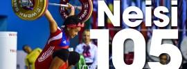Neisi Dajomes 105kg Snatch 125kg Clean & Jerk 2016 Junior World Weightlifting Championships