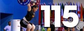 Ankhtsetseg Munkhjantsan 115kg Snatch 2016 Junior World Weightlifting Championships