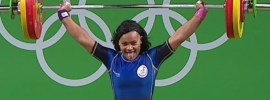 Neisi Dajomes 107kg Snatch + 135kg Clean and Jerk 2016 Olympic Games