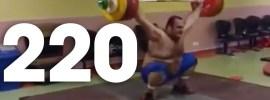 Behdad Salimi 220kg Snatch