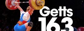 Viktor Getts 163kg Snatch PR 2015 Worlds