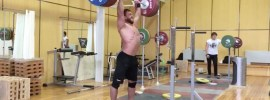 Dmitry Klokov 210kg Push Press