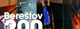 Dmitry Berestov 200kg Thruster 2016 Klokov Power Weekend