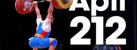 Apti Aukhadov 212kg Clean & Jerk 2015 World Weightlifting Championships