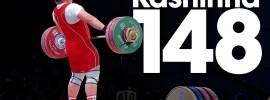 Tatiana Kashirina 143kg, 148kg, x152kg Snatches 2015 World Weightlifting Championships