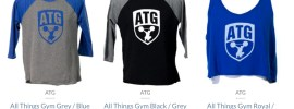 ATG Raglan Shirts + Crop Tops