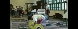 "Ironmind ""Challenge in China"" 1995 Worlds Training Hall Video"