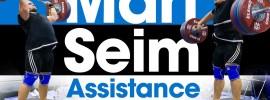 Mart Seim Assistance Exercise Session 2017 Europeans Training Hall