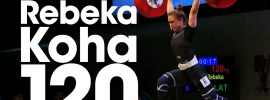 Rebeka Koha 99kg Snatch + 120kg Clean & Jerk 2017 Junior World Champion