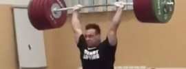 Ilya Ilyin 245kg Clean & SQUAT Jerk!