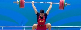 Shi-Zhiyong-198 clean and squat jerk
