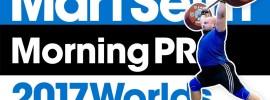 Mart Seim Big Jumps & Morning PRs 2017 Worlds Training Hall