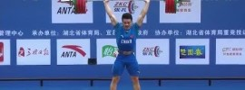 Shi Zhiyong 163kg Snatch + 197kg Clean & Jerk Unofficial World Record Total