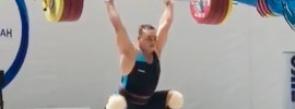 Ilya Ilyin 208kg Squat Jerk Competition Comeback + Kazakh Nationals Results