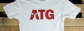 ATG White Cardinal Shirt