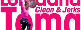Loredana Toma 125kg Clean & Jerk Session