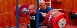 Mart Seim 380kg Squat