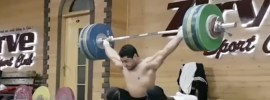 mohamed ehab 170kg block snatch