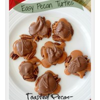 Easy Pecan Turtles ~ Gluten Free Naturally