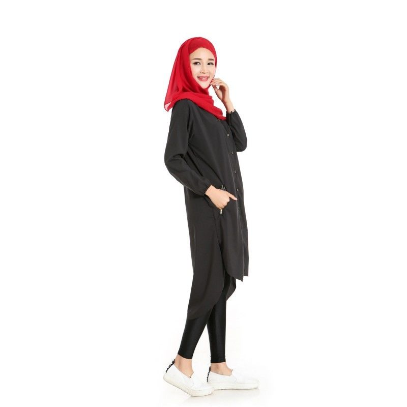 Hijab fashion guide 2017 | shirt dress image 2